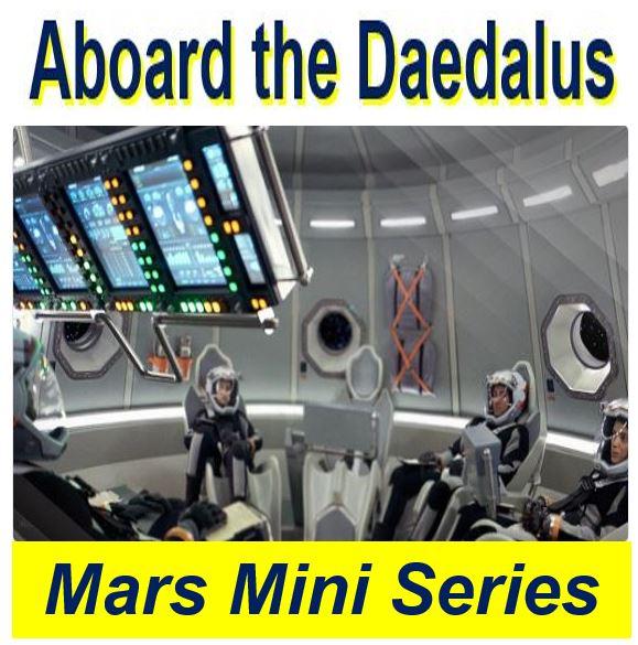 Mars series aboard the Daedalus