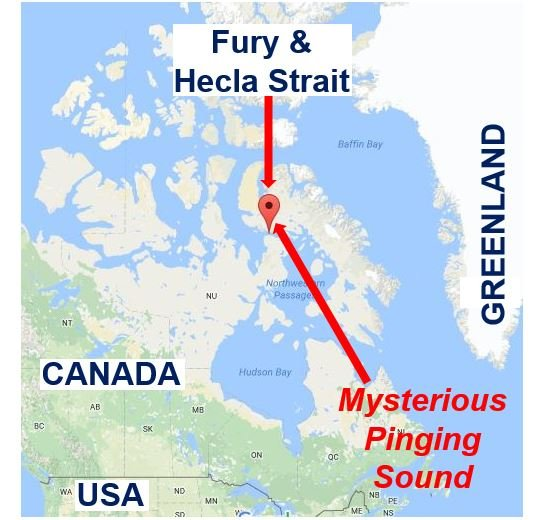 Fury and Hecla Strait pinging sound