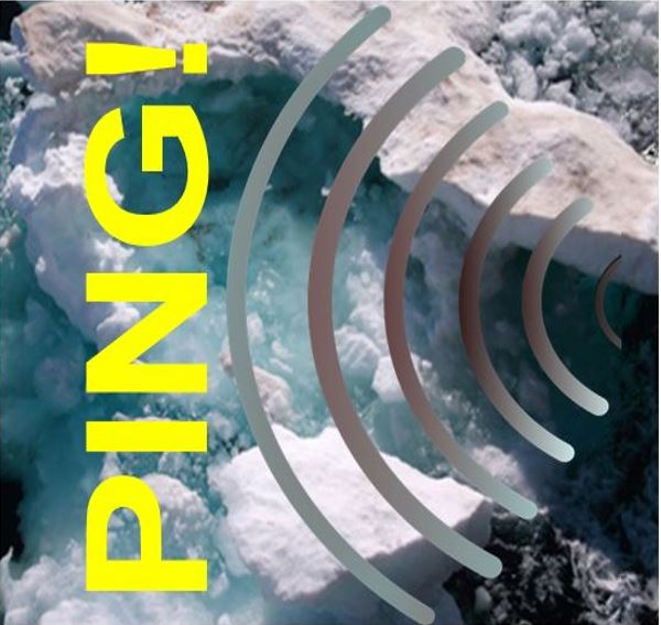 Pinging sound in Arctic