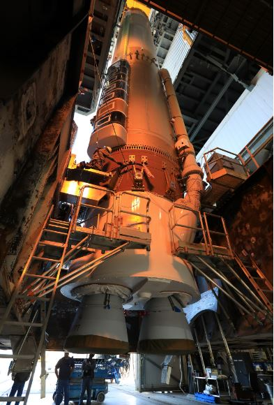 Rocket ready to carry GOES-R