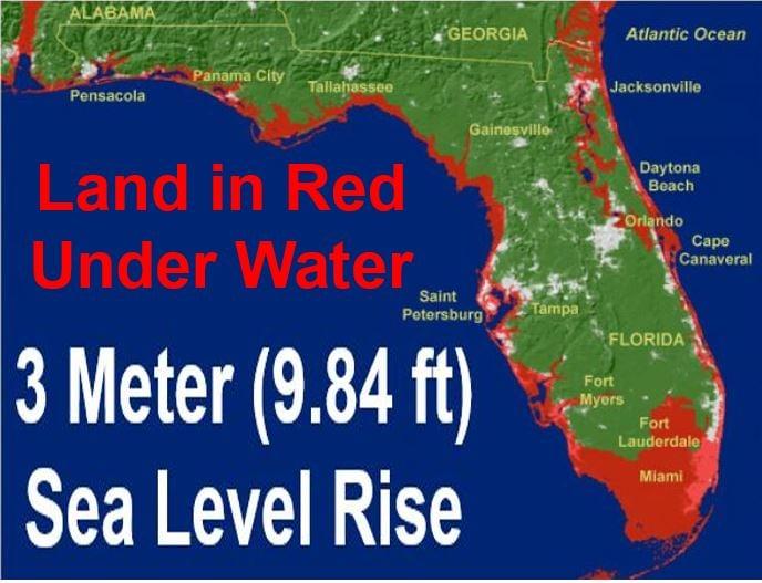 3 Meter Seal Level Rise