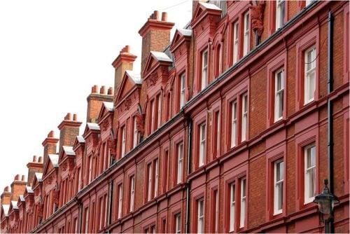 house price growth London facade