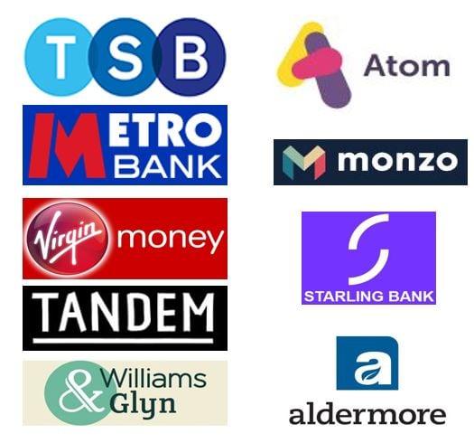 UK Challenger bank list