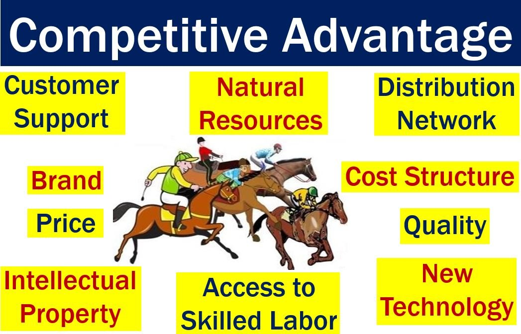 dell's competitive advantages Obtaining the competitive advantage at dell using cost leadership and differentiation strategies cross functional level strategy dell company carries its activity in a defined order.