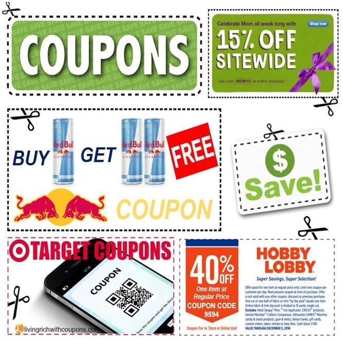 Coupon vouchers
