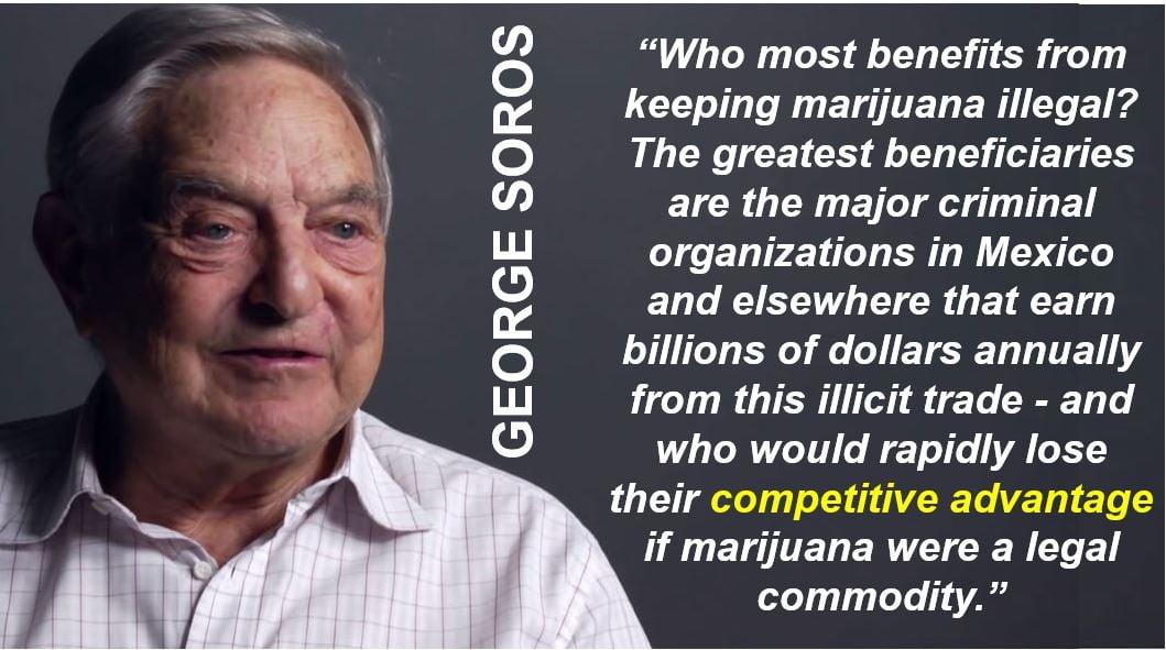 George Soros - Competitive Advantage quote