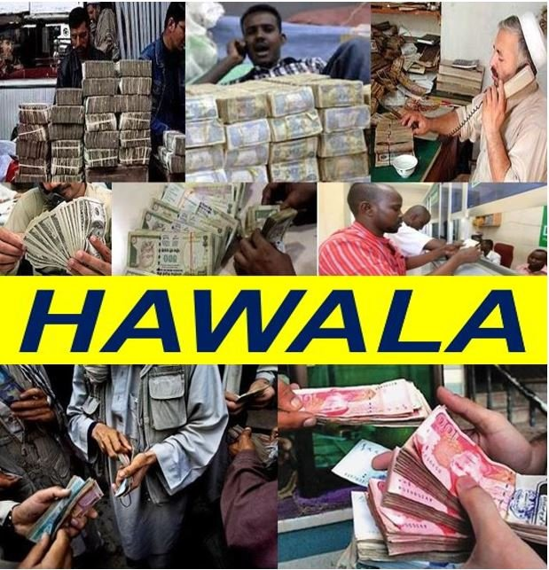 Hawala system of sending money abroad