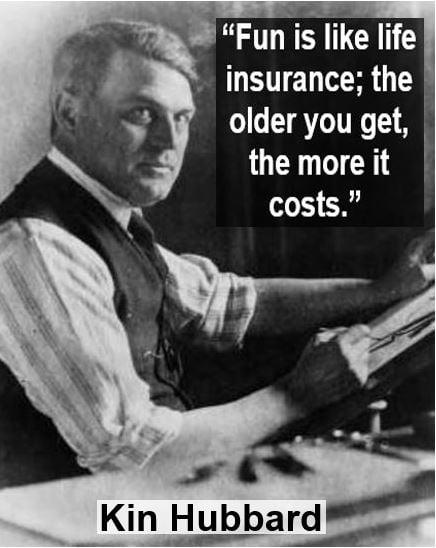 Kin Hubbard insurance quote