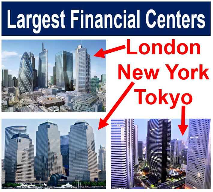Largest financial centers