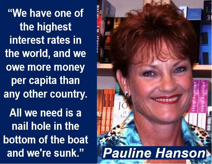 Pauline Hanson quote