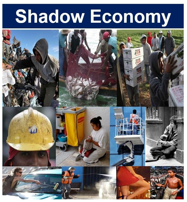 People in the shadow economy