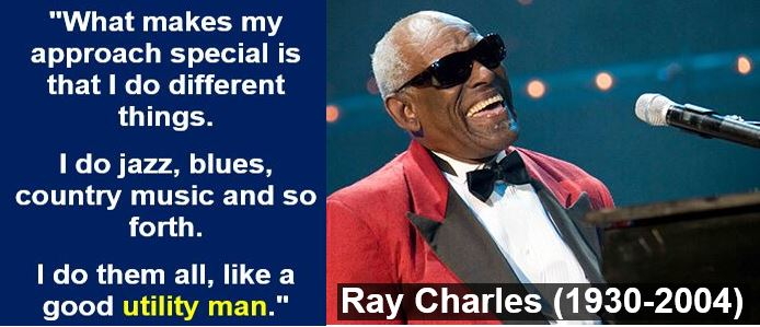 Ray Charles utility quote