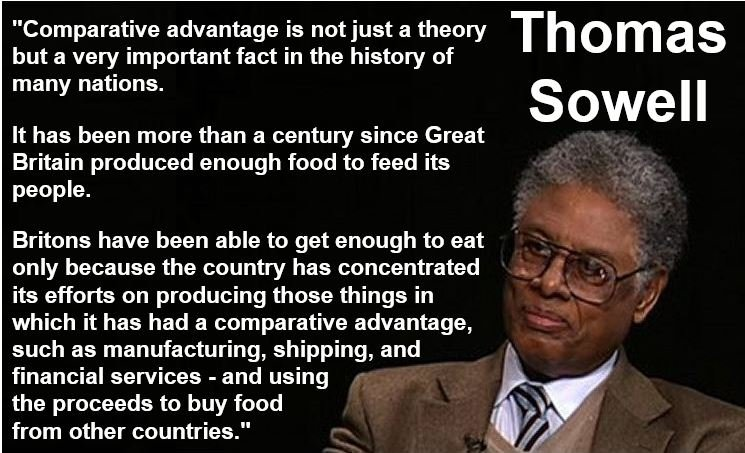 Thomas Sowell Comparative Advantage