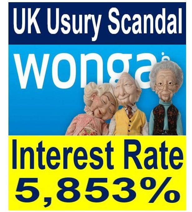 UK Usury scandal