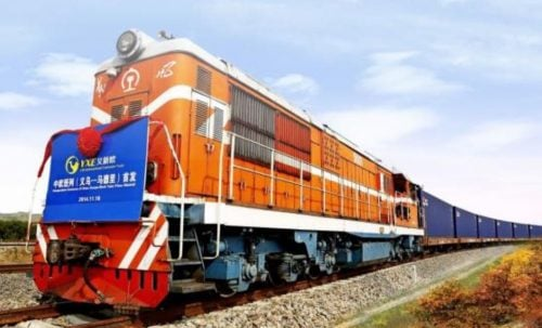 China direct rail freight to Europe