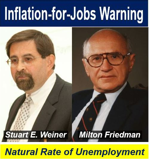 Friedman and Weiner opinion - natural rate of unemployment