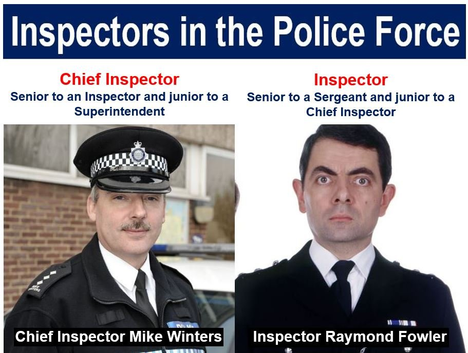 Inspector and chief inspector
