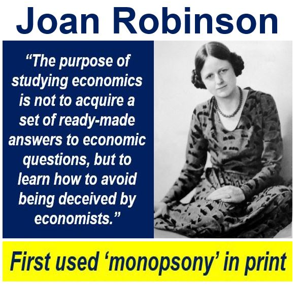 Joan Robinson monopsony