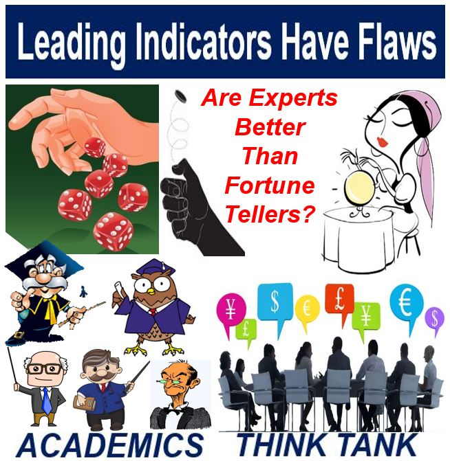 Leading indicators have flaws