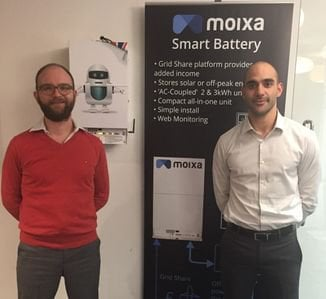 Moixa smart battery