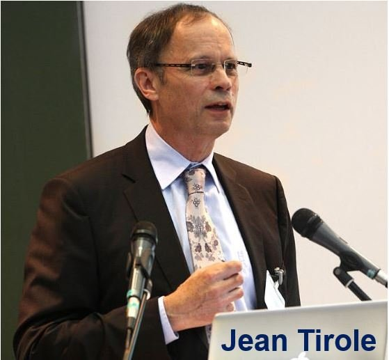 Prof. Jean Tirole Nobel Prize for Market Power study