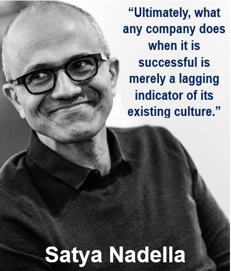 Satya Nadella indicator quote