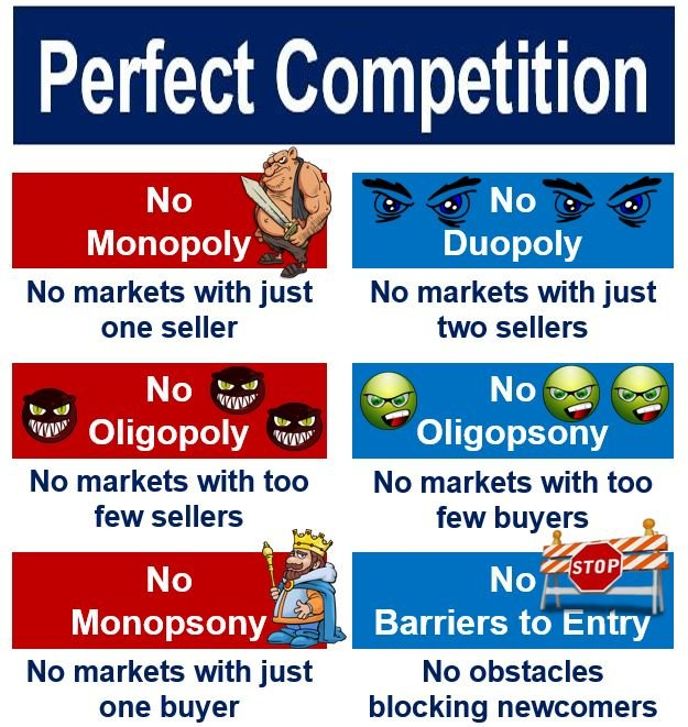 Absent in perfect competition