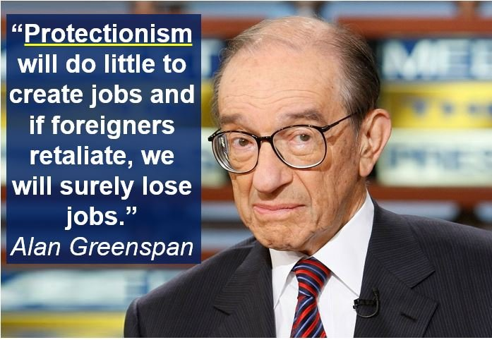 Alan Greenspan - protectionism quote