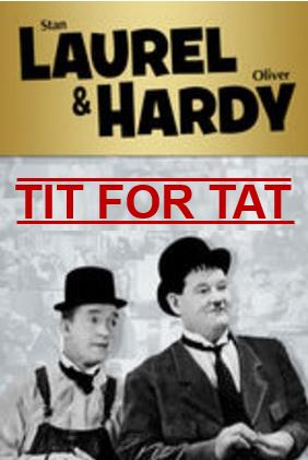 Laurel and Hardy reciprocity