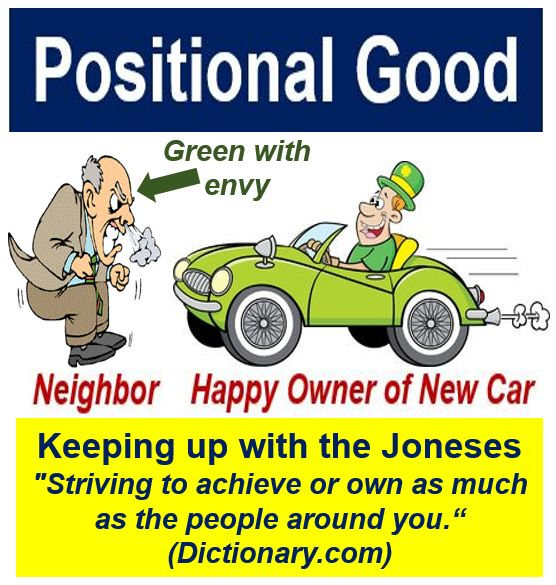 Positional goods