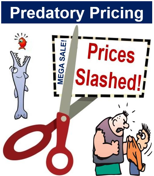 Predatory pricing scissors and bully