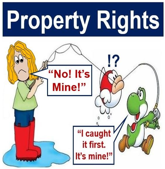 property rights Property, in the abstract, is what belongs to or with something, whether as an attribute or as a component of said thing in the context of this article, it is one or.