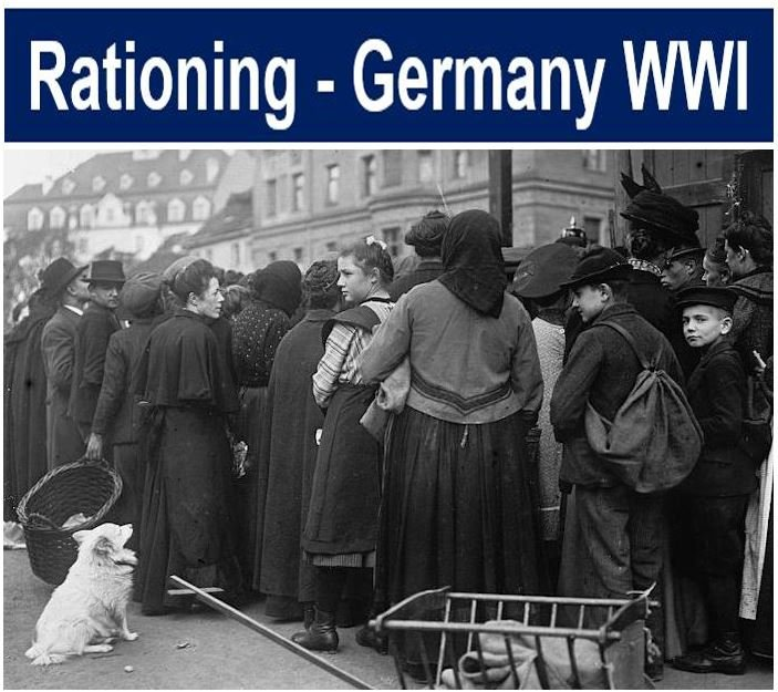 Rationing Germany WWI