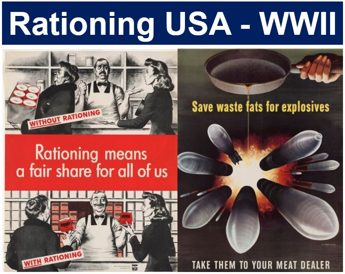 Rationing USA WWII