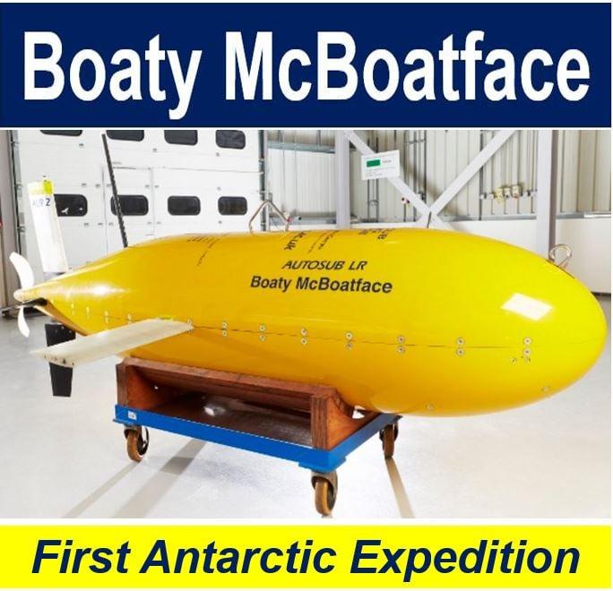 Boaty McBoatface minisub