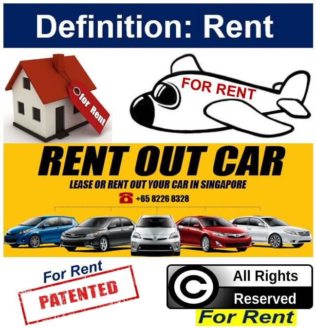 Definition of rent