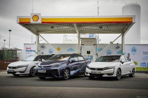 fuel cell hydrogen refuelling station from ITM Power and Shell