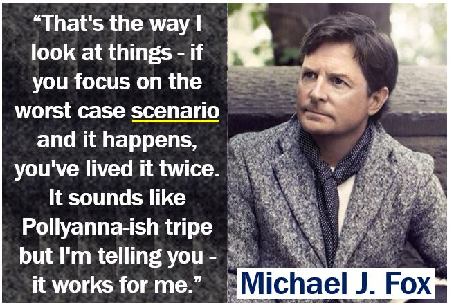 Michael J Fox scenario quote