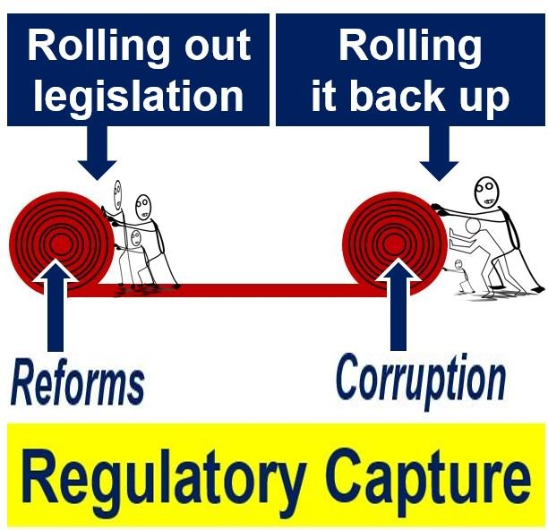 Regulatory capture - unrolling and rolling up the carpet