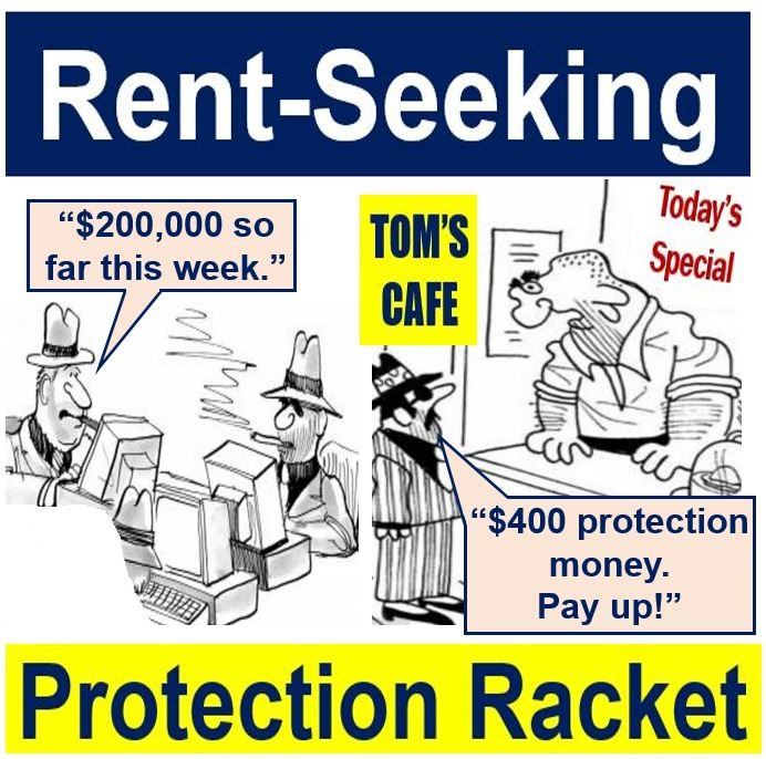 Rent-seeking-protection-racket