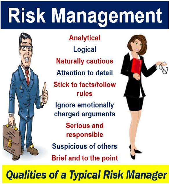 Risk Management - Qualities of a typical risk manager