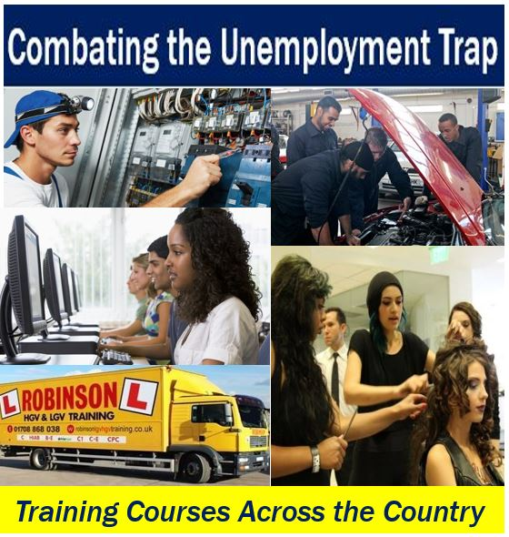 Combating the unemployment trap