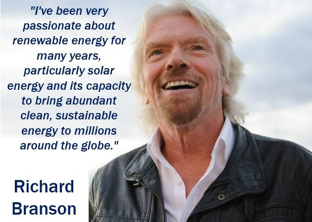 Richard Branson - Sustainable Growth quote
