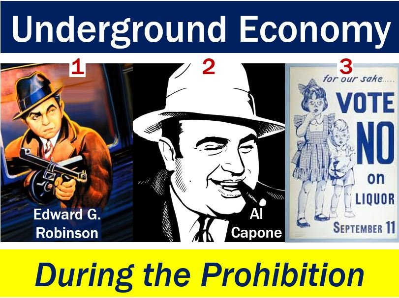 Underground economy during the prohibition