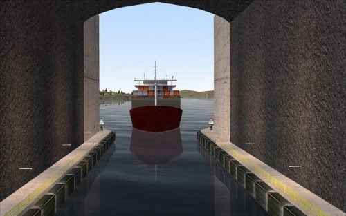 ship tunnel cargo vessel credit Kystverket
