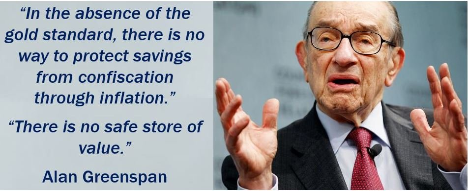 Alan Greenspan - Gold Standard Quote