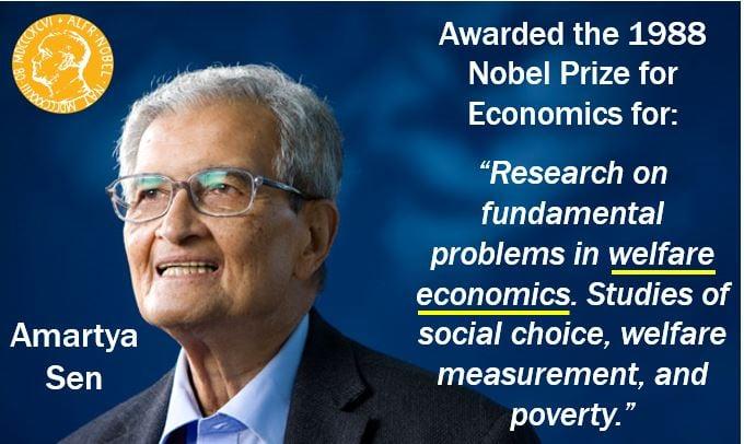 Amartya Sen welfare economics - Nobel Prize