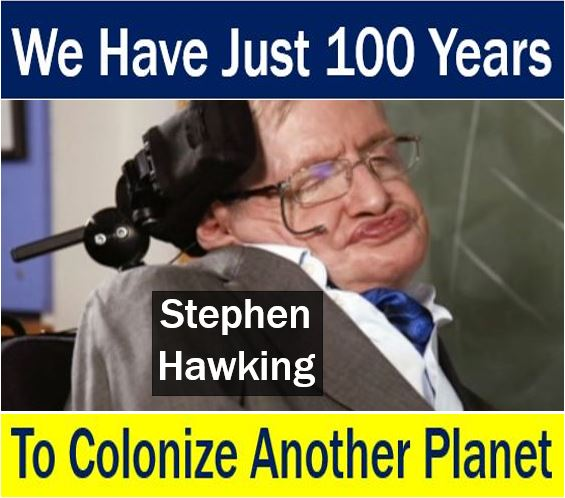 Stephen Hawking - colonize another planet warning