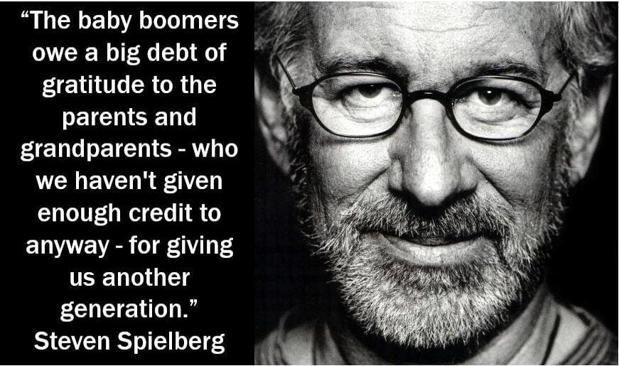 Steven Spielberg - Baby Boomers