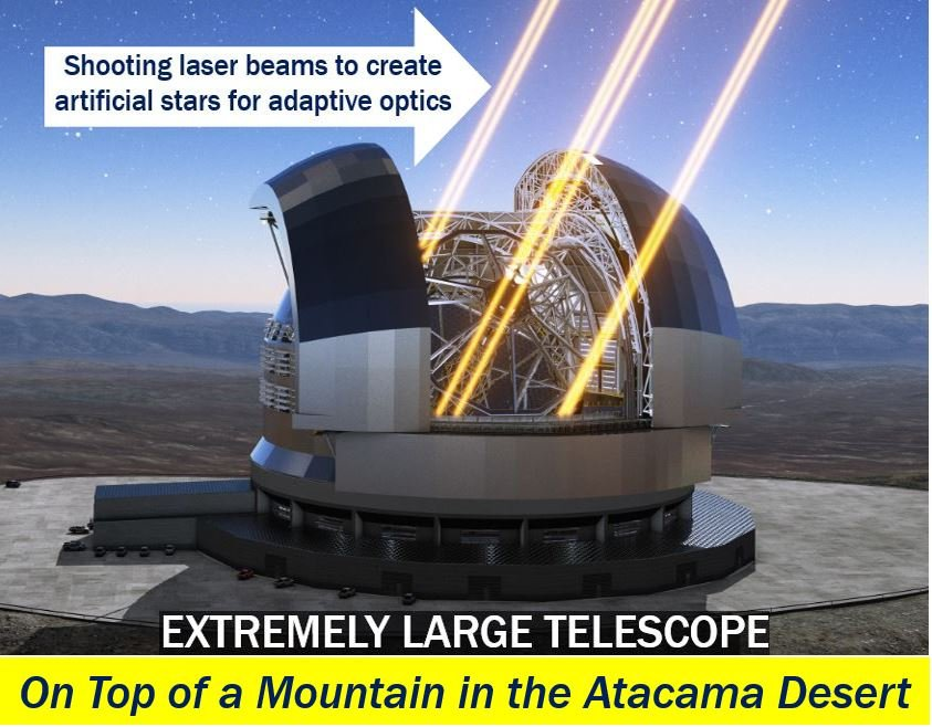 Super telescope being built by ESO in Chile